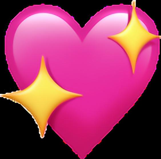 Heart emoji clipart graphic emoji emojicoração coração emoticons heart png pngs png... graphic
