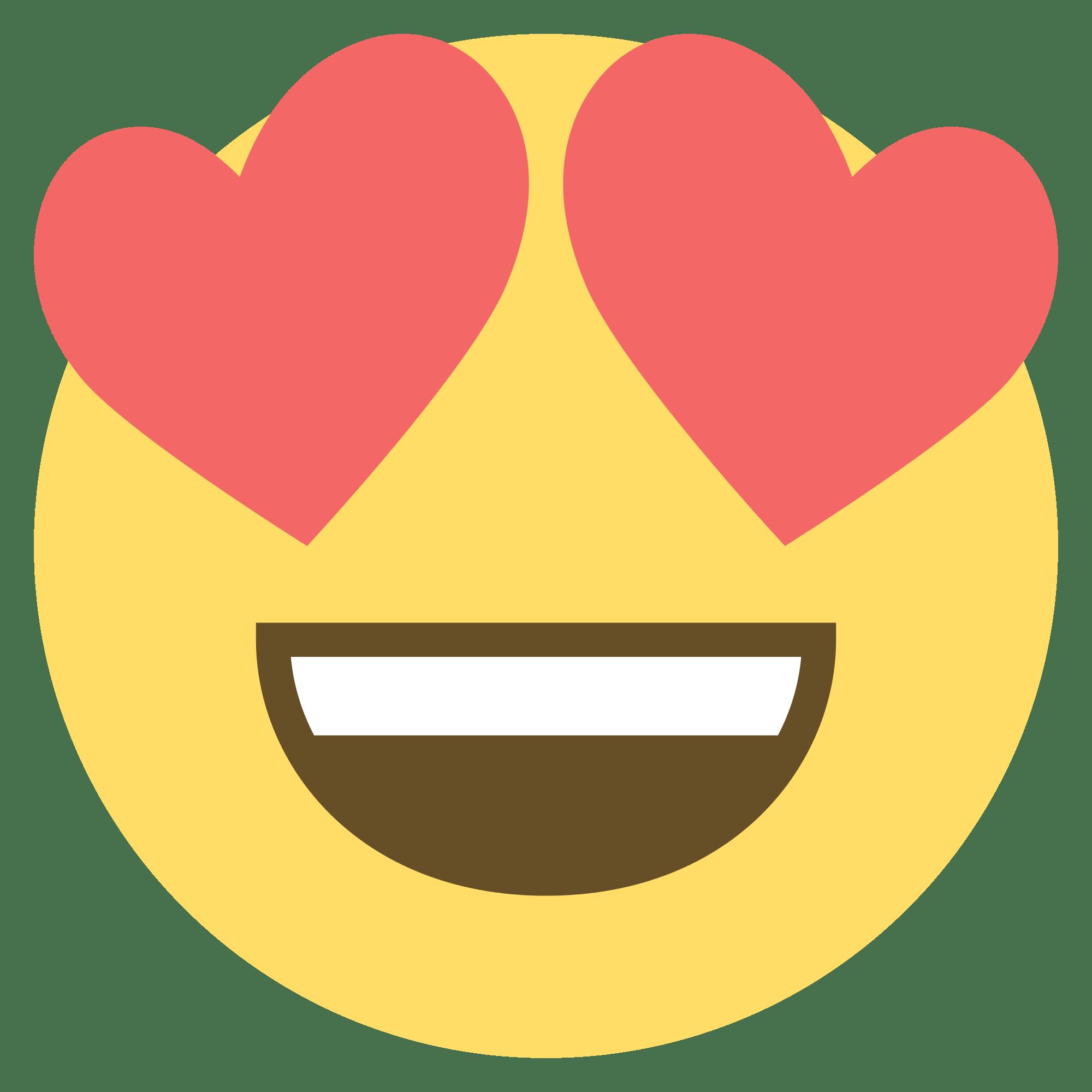 Heart eye emoji clipart clip freeuse Love Emoji Png Heart clip freeuse