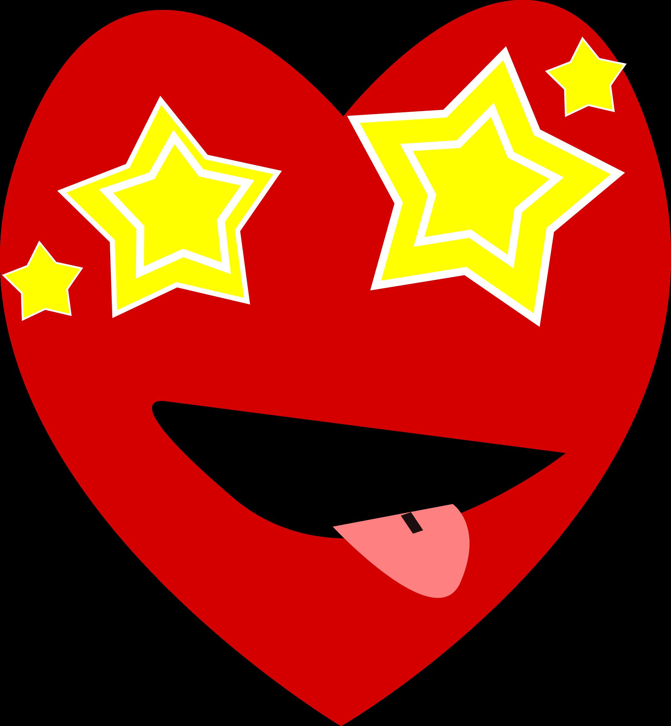 Heart eyes clipart jpg freeuse stock Clipart - Heart-Starry Eyed jpg freeuse stock