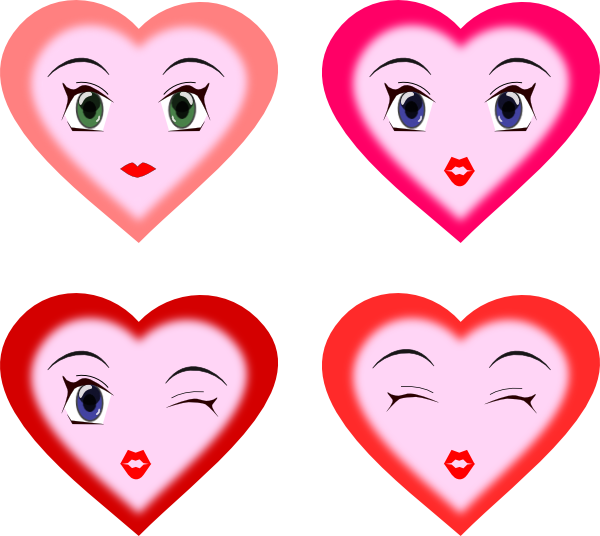 Heart eyes clipart clip art stock Heart Faces Clip Art at Clker.com - vector clip art online, royalty ... clip art stock