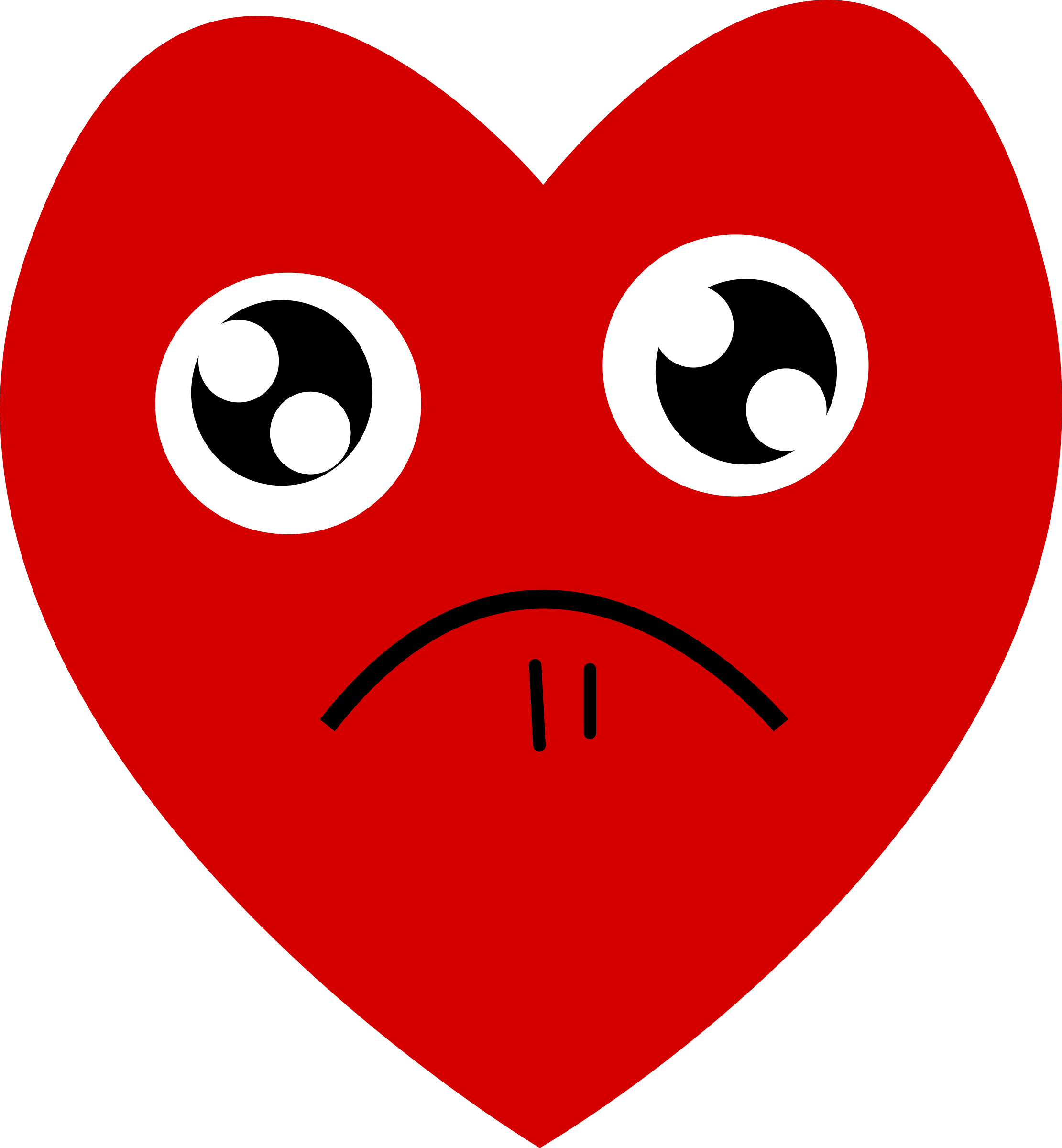 Heart eyes clipart clipart library Clipart - Heart-Pitiful clipart library