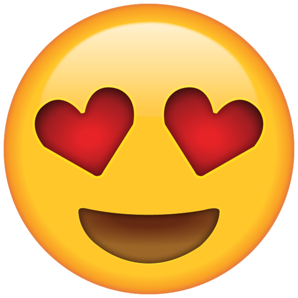 Heart eyes emoji clipart picture free stock Show someone a little love with this heart eyed emoji. They're sure ... picture free stock