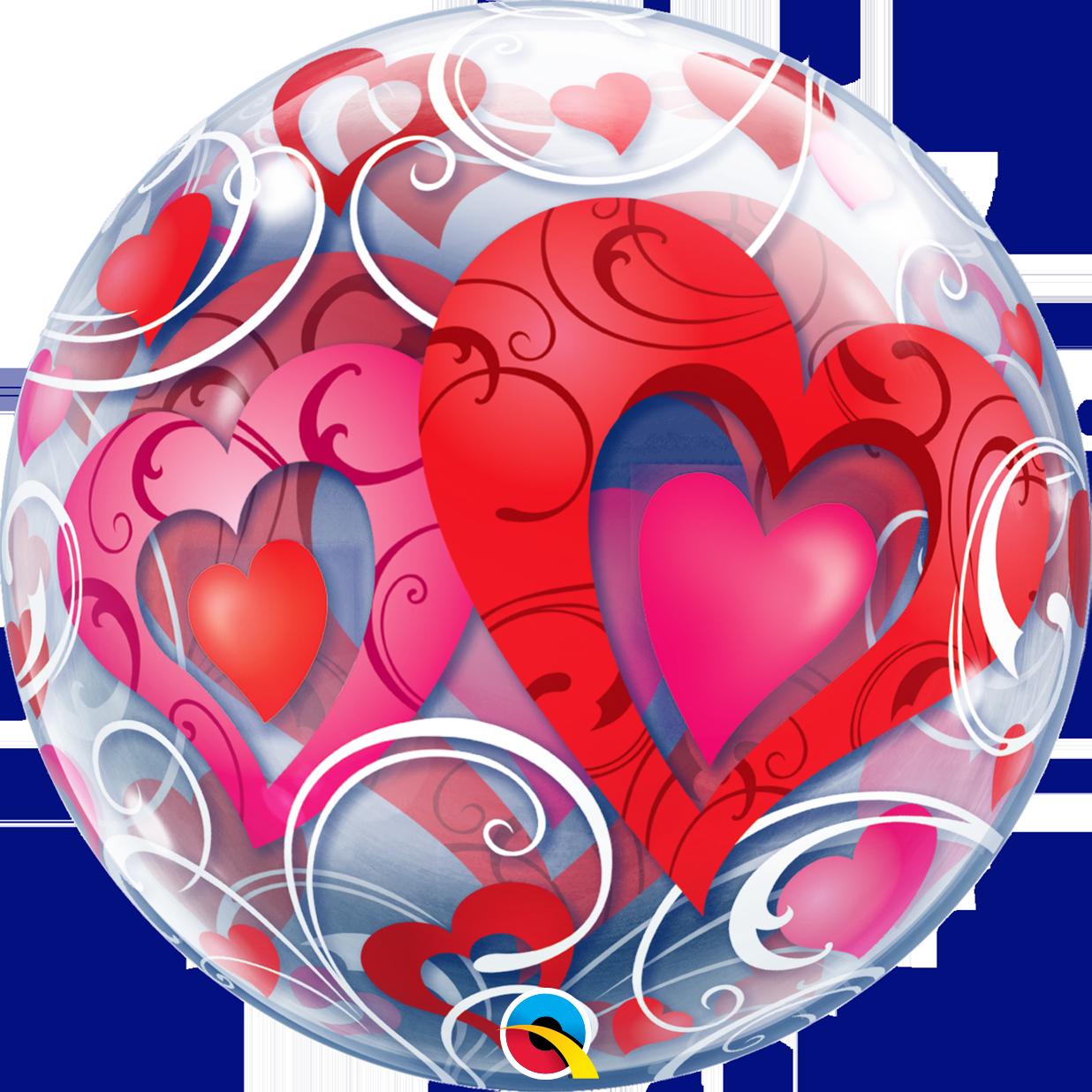 Heart filigree clipart jpg freeuse library I Love You Heart Bubble Balloon Bouquet | onlineweddingstore jpg freeuse library