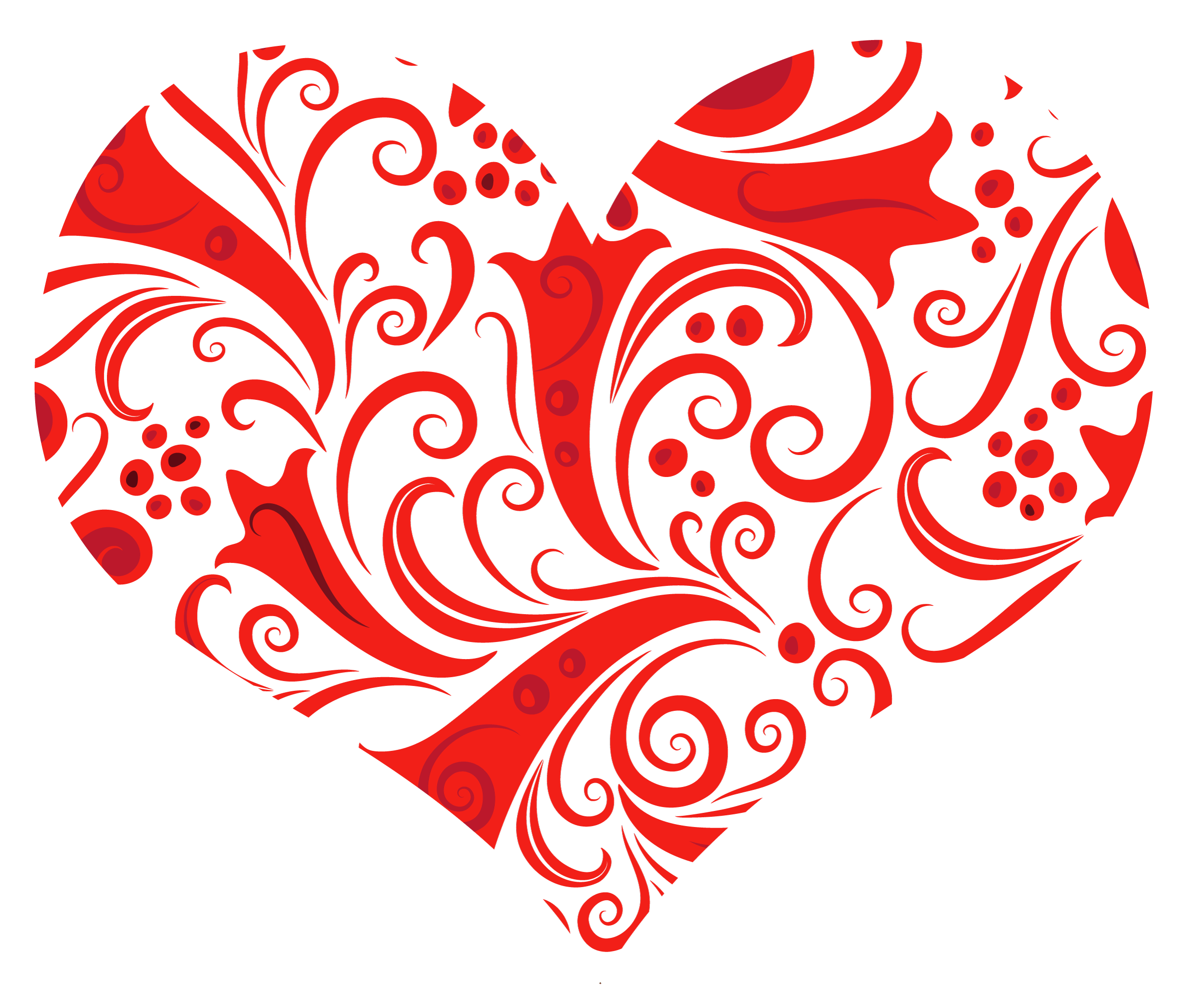 Heart filigree clipart graphic free Transparent Heart Ornament PNG Clipart | Gallery Yopriceville ... graphic free