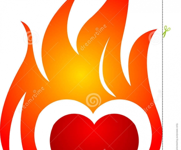 Heart flame clipart clip freeuse stock Free Flame Clipart | Free download best Free Flame Clipart ... clip freeuse stock