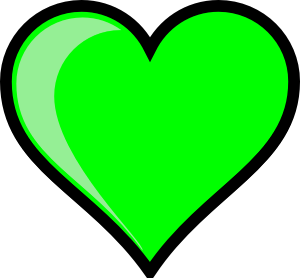 Heart green clipart png transparent download Neon Green Bubble Heart Clip Art at Clker.com - vector clip ... png transparent download