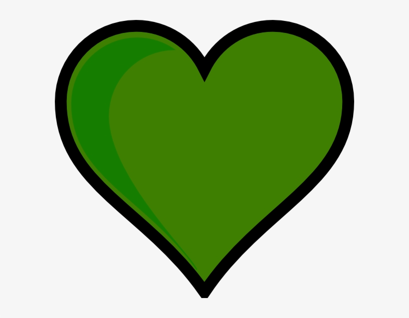 Heart green clipart clipart transparent Green Heart Clip Art - Transparent Background Heart Clipart ... clipart transparent