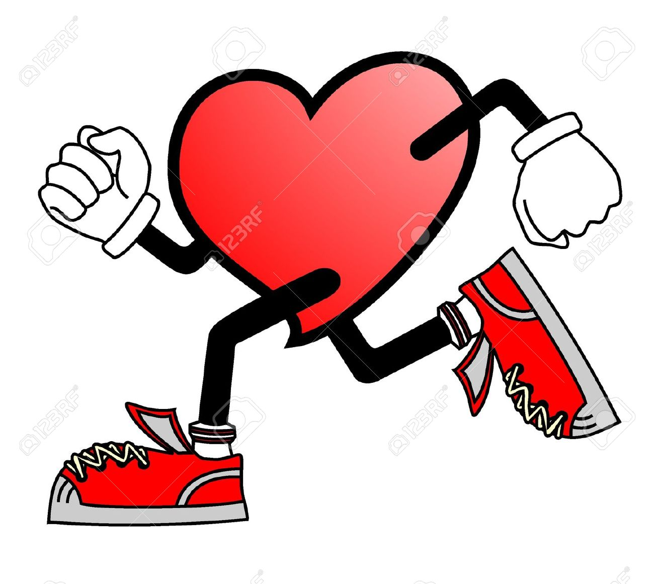 Heart hospital clipart graphic black and white Healthy Heart Clipart   Free download best Healthy Heart ... graphic black and white