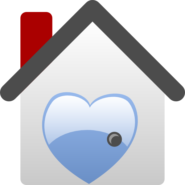 Heart house clipart image freeuse stock Barretr House Love Clip Art at Clker.com - vector clip art online ... image freeuse stock