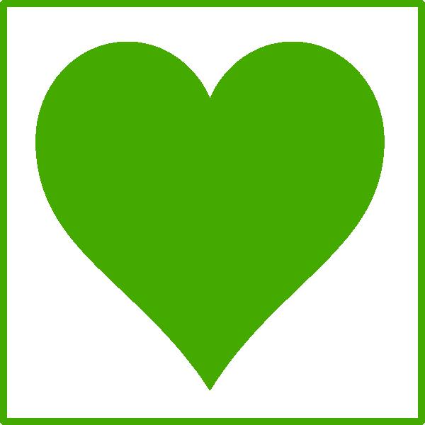 Heart icon clipart clip transparent stock Green Heart Icon Clip Art at Clker.com - vector clip art online ... clip transparent stock