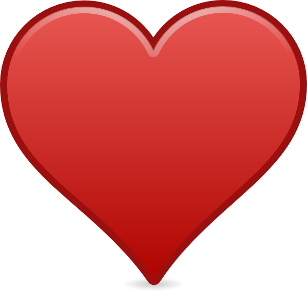 Heart icon clipart png royalty free library Heart Icon Clip Art at Clker.com - vector clip art online, royalty ... png royalty free library