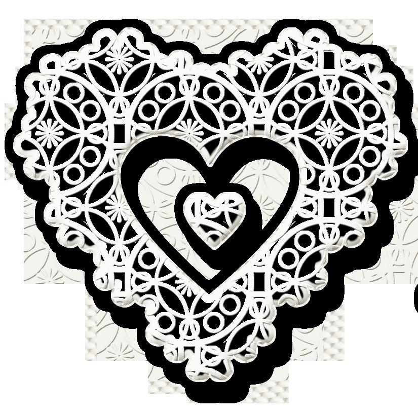 Heart lace clipart clip stock KarenPhoto Heart Lace White by KarenPhoto70 on DeviantArt clip stock