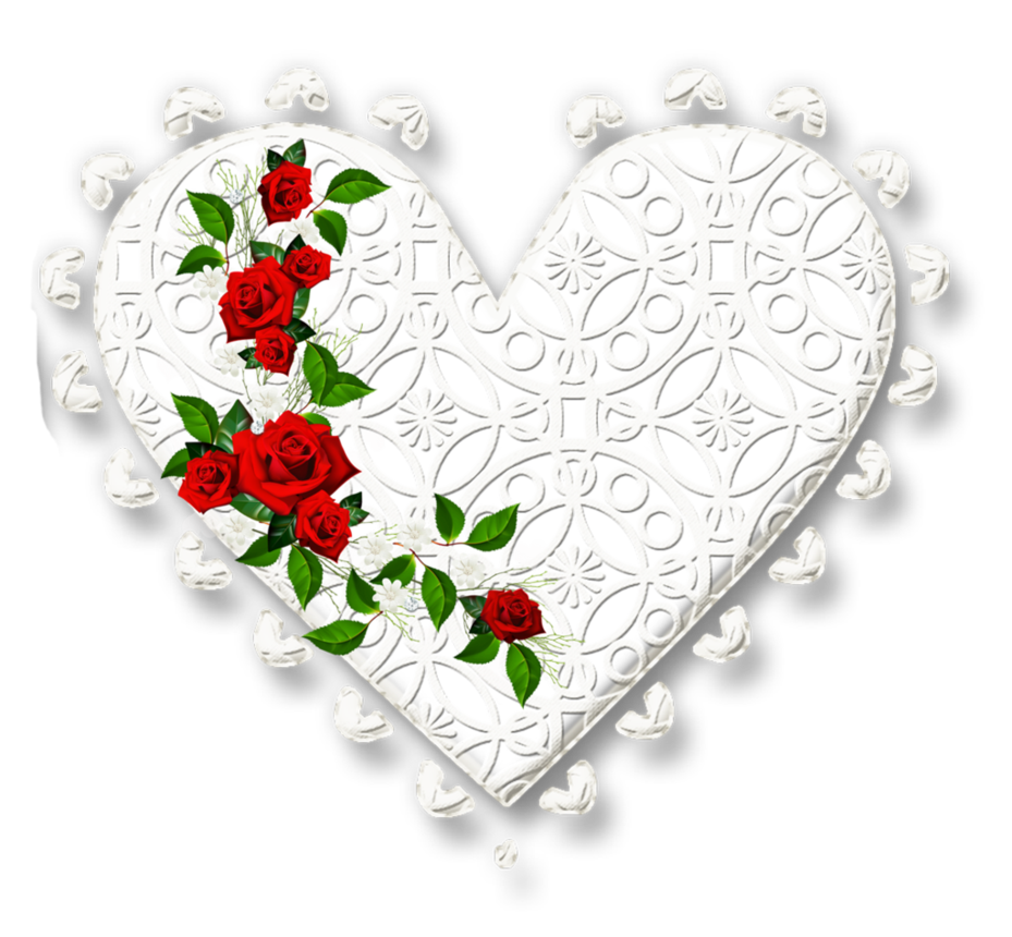 Heart lace clipart picture library library KarenPhoto Heart Lace White 7 by KarenPhoto70 on DeviantArt picture library library
