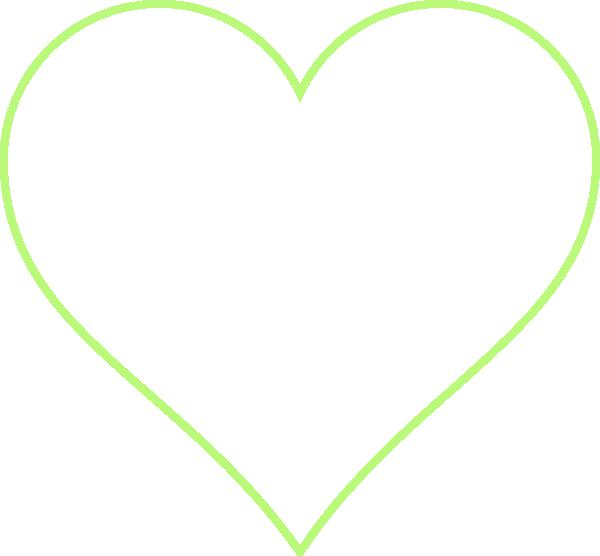 Heart leaf clipart clip art freeuse Heart Outline Clip Art at Clker.com - vector clip art online ... clip art freeuse