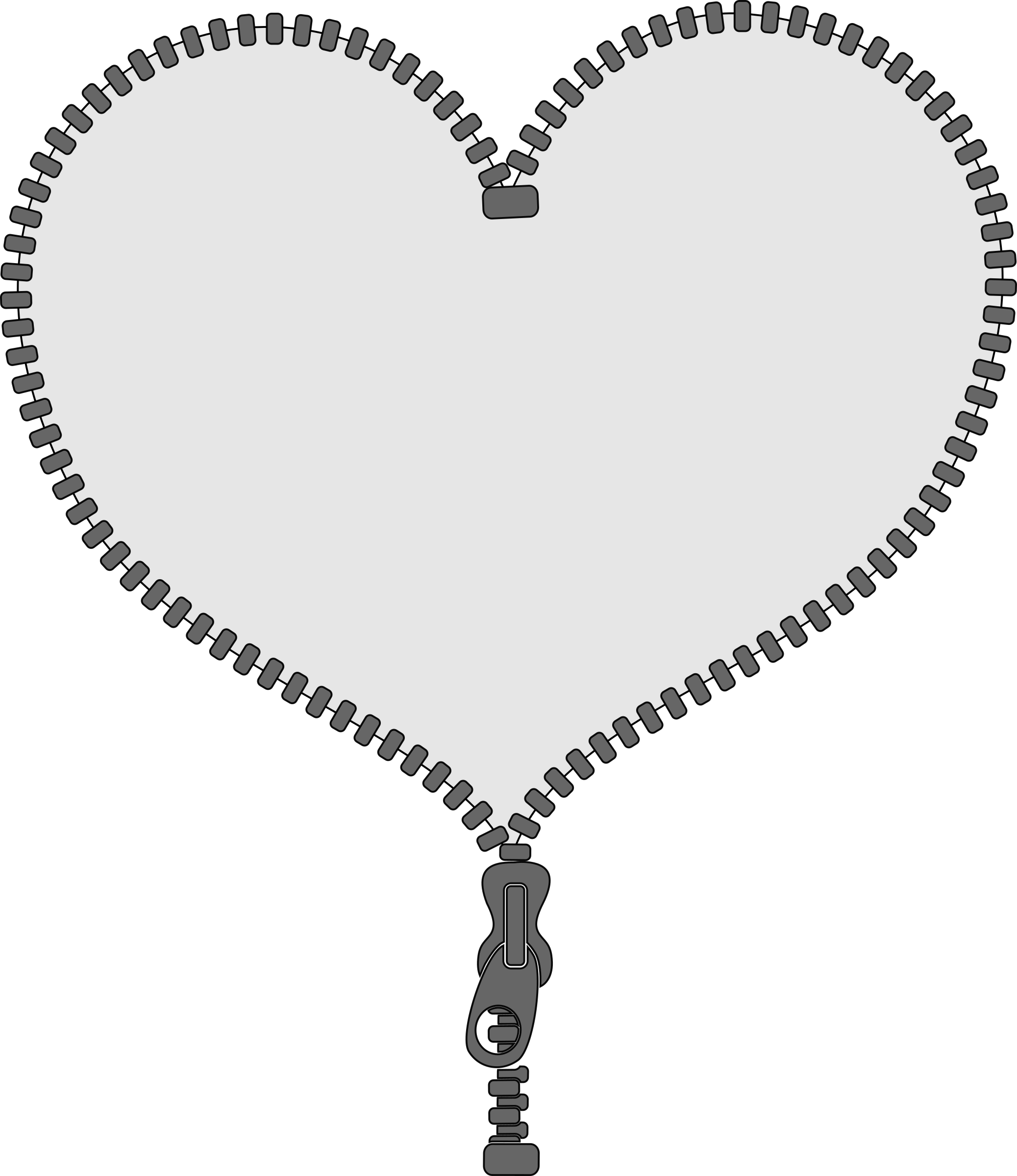Heart locket clipart freeuse Clipart - Unzip my heart freeuse