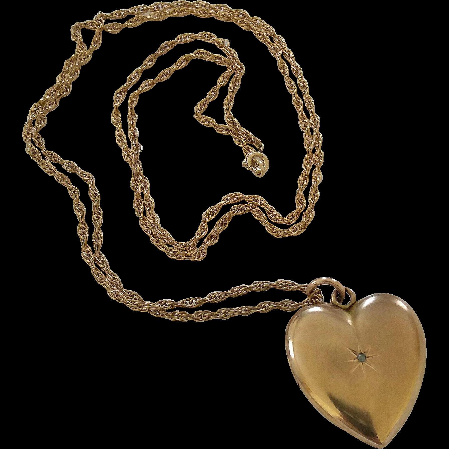 Heart locket clipart vector library library Heart Pendant PNG Clipart   PNG Mart vector library library