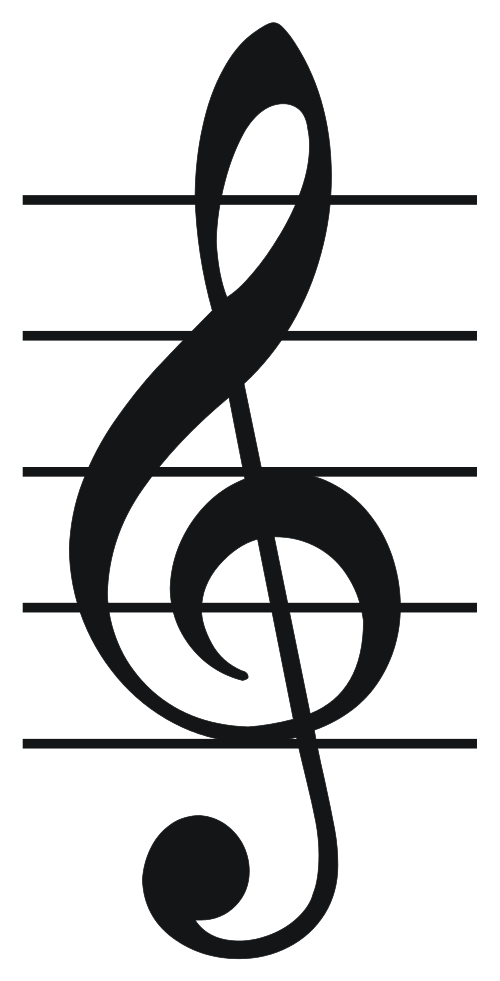 Musical heart clipart clip royalty free stock Music Symbol Treble Clef Gallery - meaning of text symbols clip royalty free stock