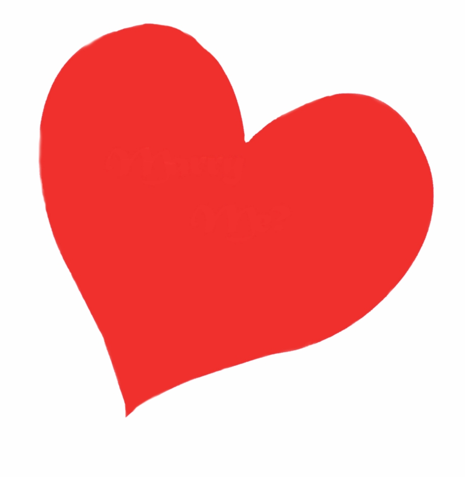 Heart no background clipart