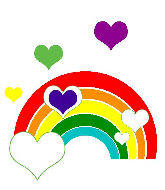Heart of te fiti clipart clip art transparent library Резултат с изображение за rainbow and clouds clipart   rainbows ... clip art transparent library