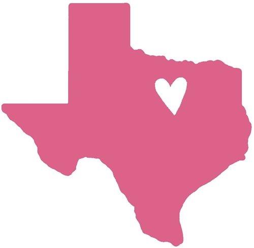Heart of texas clipart clip freeuse Nappy Shoppe Sticker - Mini Texas Heart clip freeuse