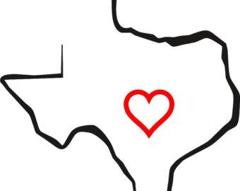 Heart of texas clipart clip art freeuse stock Texas Line Art | Free download best Texas Line Art on ... clip art freeuse stock