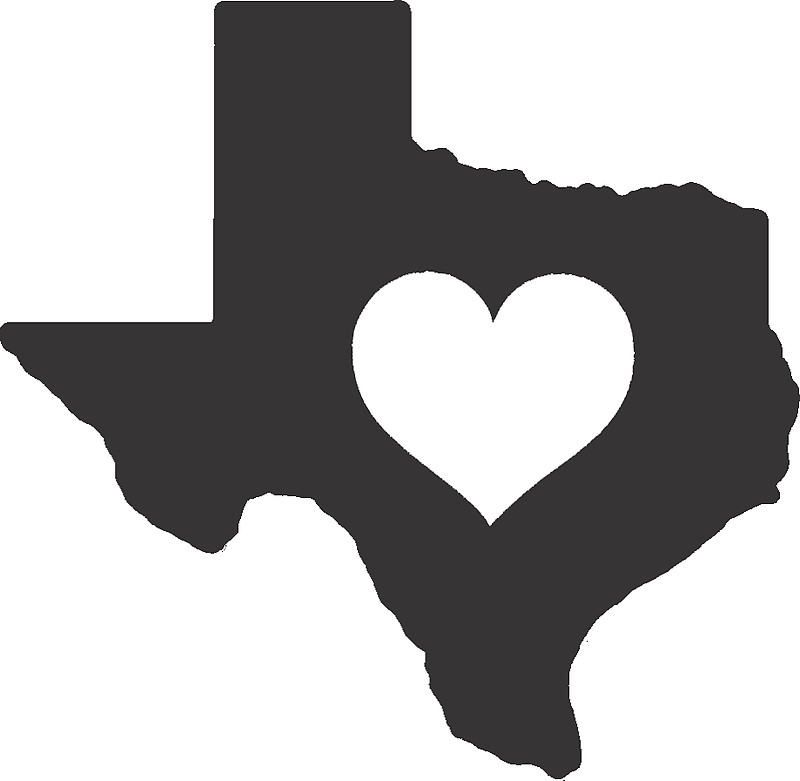 Heart of texas clipart picture royalty free download Texas Trivia- What County is the Geographic Center of Texas ... picture royalty free download