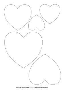 Heart outline clipart multiple sizes clip art royalty free download Heart outline clipart multiple sizes - ClipartFest clip art royalty free download