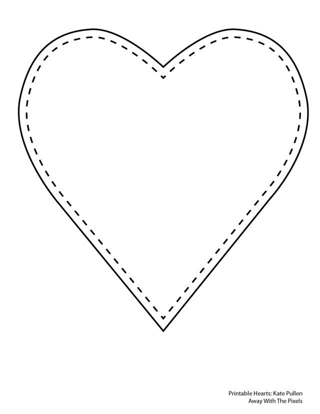 Heart outline clipart multiple sizes svg black and white Heart outline clipart multiple sizes - ClipartFest svg black and white