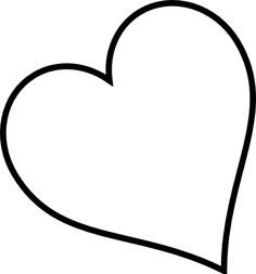 Heart outline clipart multiple sizes picture transparent stock Heart Outline Clip Art | Small red heart black and white only clip ... picture transparent stock