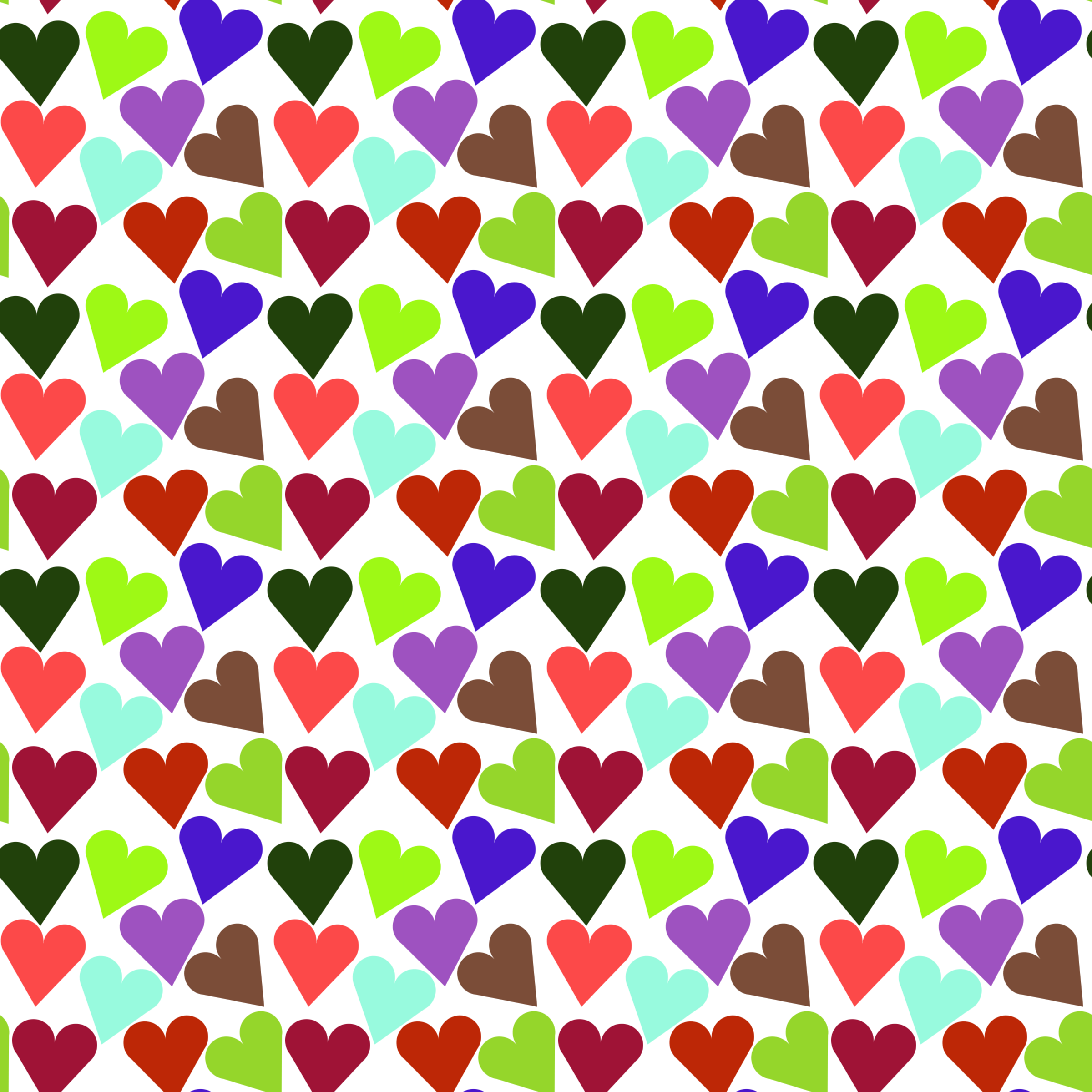 Heart pattern clipart freeuse download Clipart - Heart pattern freeuse download