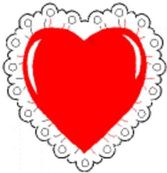 Heart pillow clipart royalty free library Heart Pillow Clip Art - Pillow royalty free library