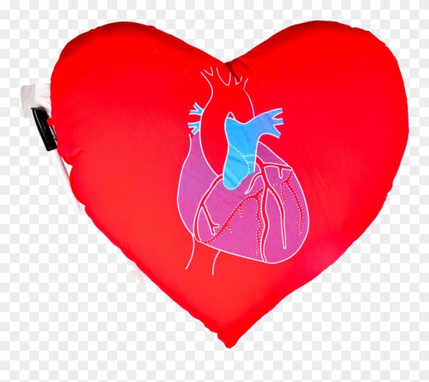Heart pillow clipart jpg black and white Heart Pillow - Heart Clipart (#547262) - PinClipart jpg black and white