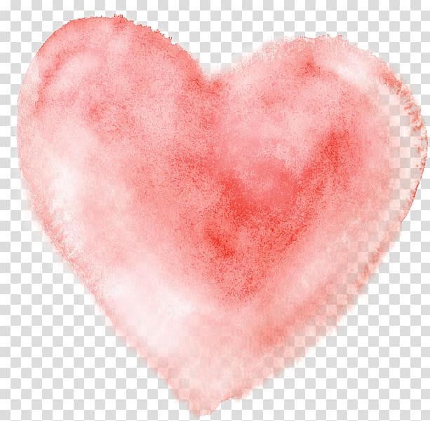 Heart pillow clipart png royalty free stock Watercolor painting Heart, Watercolor heart, pink heart ... png royalty free stock