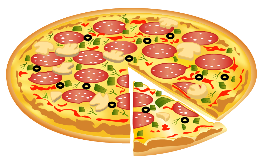 Heart pizza clipart graphic transparent library Pizza PNG Image | Gallery Yopriceville - High-Quality Images and ... graphic transparent library
