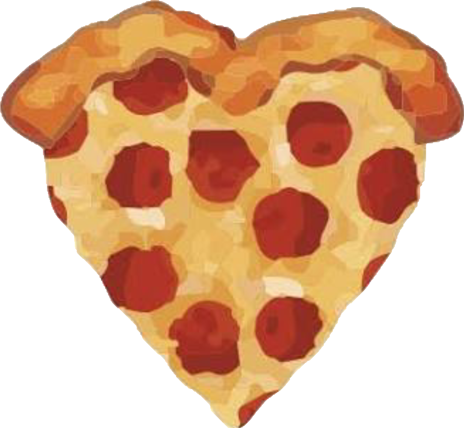 Heart pizza clipart png transparent library pizza png heart cute 90rainy png transparent library