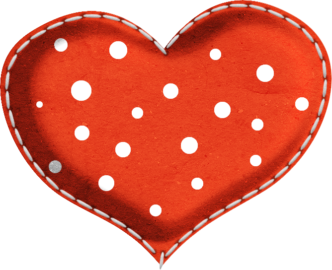 Polka dot heart clipart clip art library My Little Sailor | Pinterest | Clip art, Paper piecing and Album clip art library