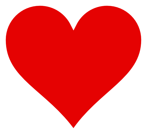 Small red heart clipart transparent stock Red Heart Clip Art at Clker.com - vector clip art online, royalty ... transparent stock