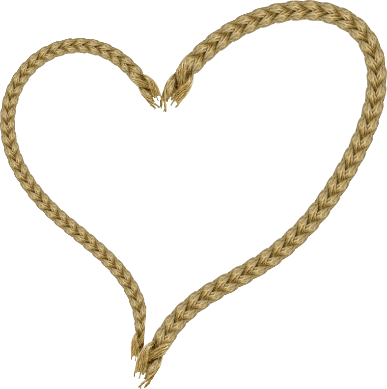 Rope heart clipart clip transparent library Clipart - Rope heart clip transparent library