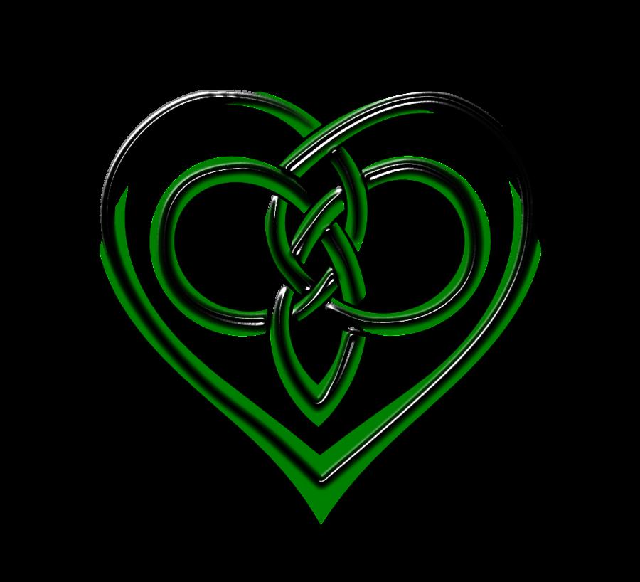 Heart rope knot clipart svg black and white Vector Celtic Heart by Lupas-Deva on deviantART   Art   Pinterest ... svg black and white