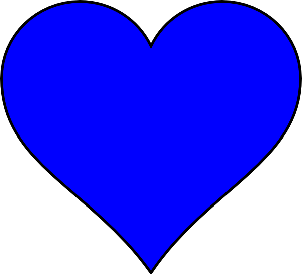 Heart shaped clipart picture Heart Shaped Lined Clipart picture
