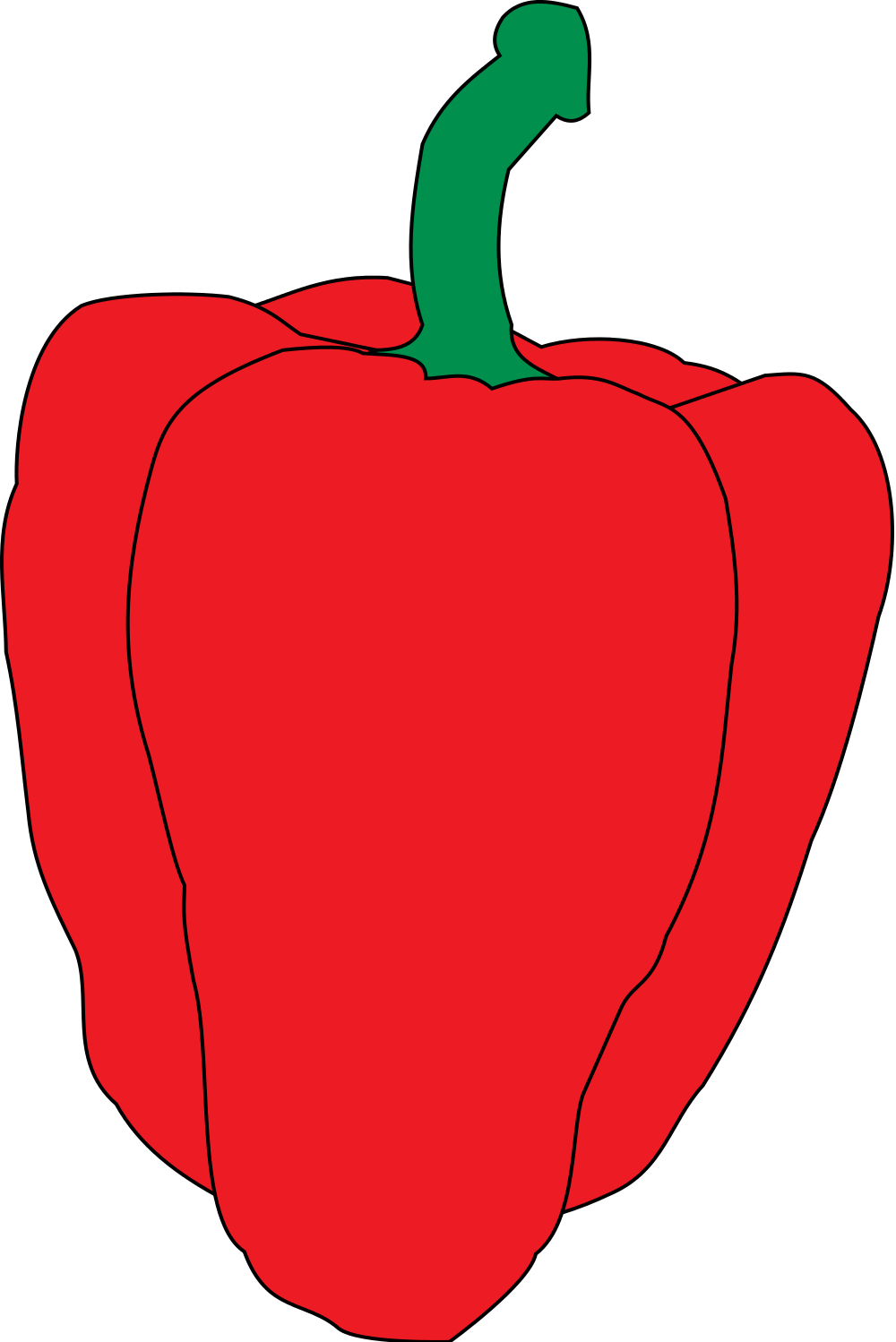 Heart shaped apple clipart clip art transparent stock File:Pimiento.svg - Wikimedia Commons clip art transparent stock