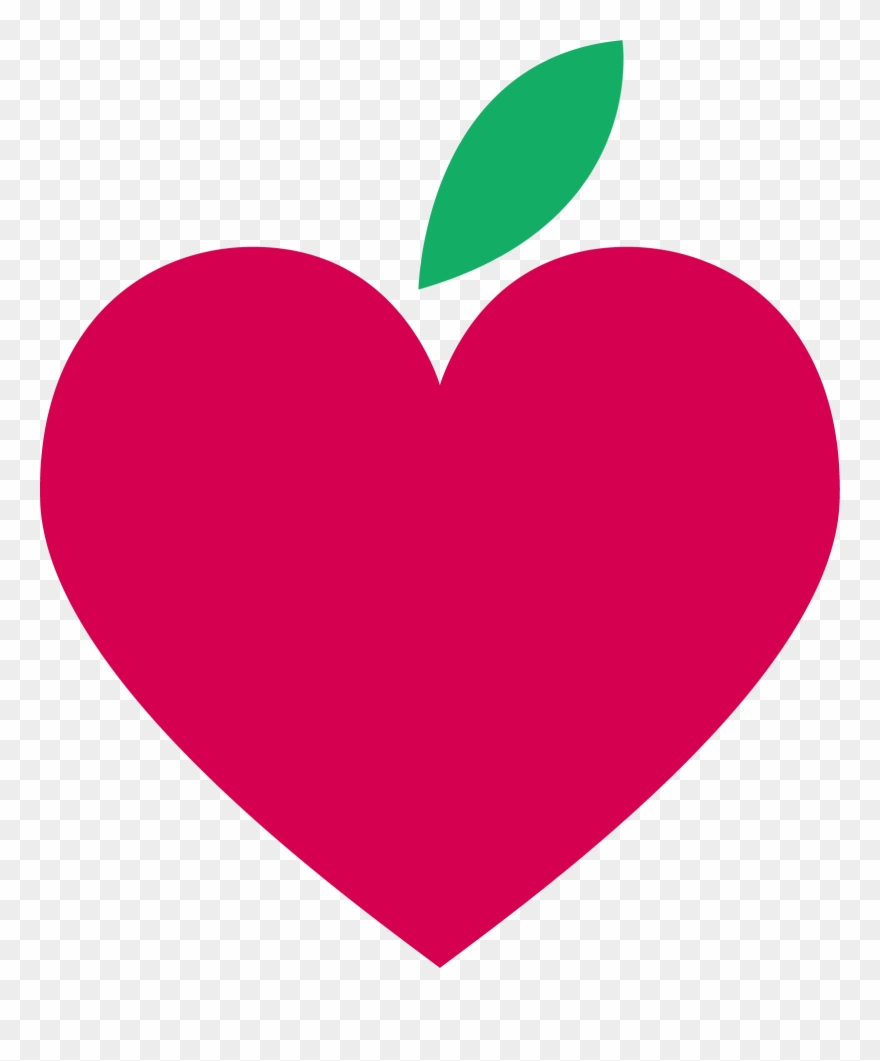 Heart shaped apple clipart black and white clip art library Apple Hearts 1598*1855 Transprent Png Free Download - Heart ... clip art library