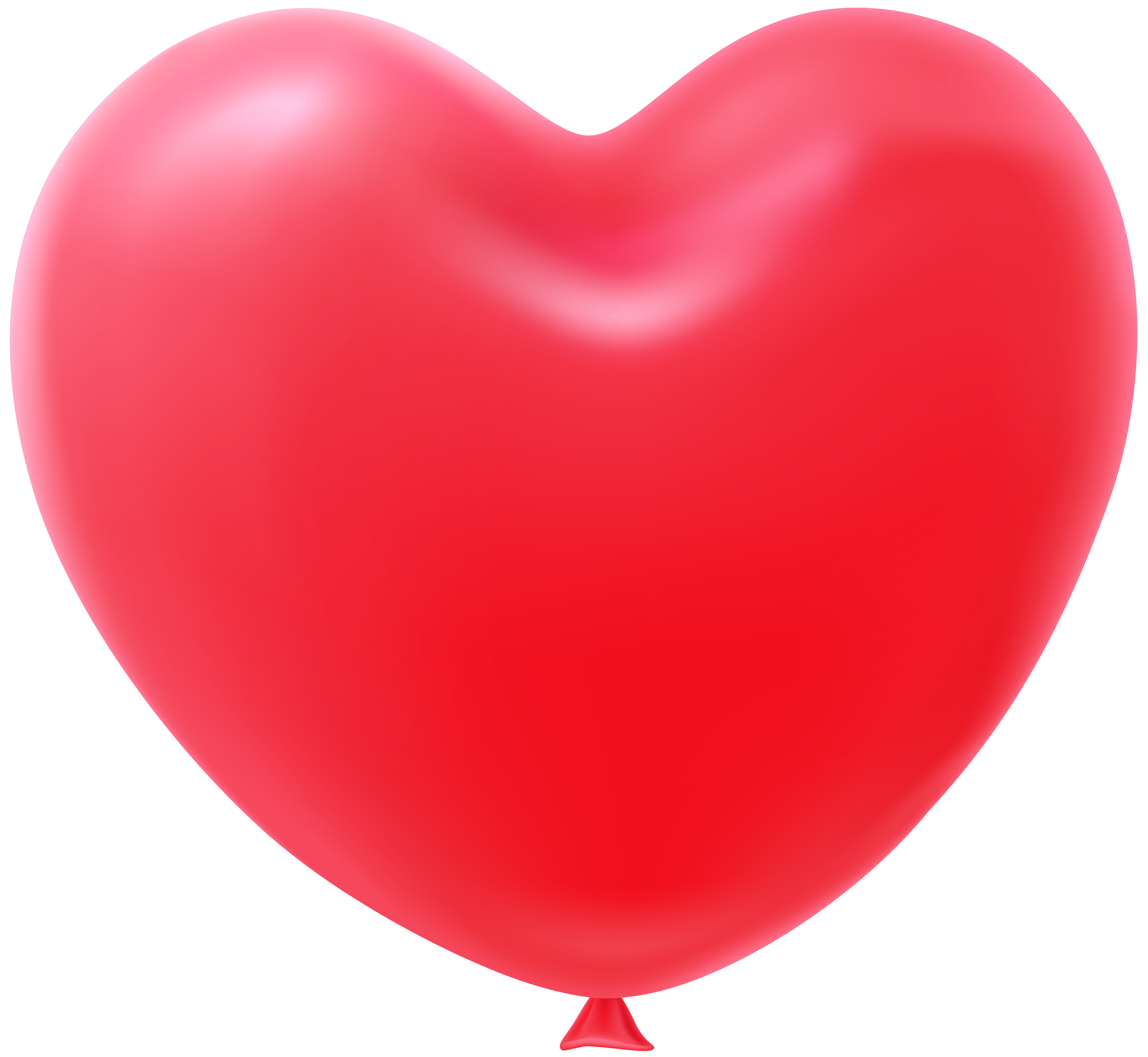 Heart shaped balloon clipart png royalty free Heart Shape Balloon Red Transparent Clip Art Image ... png royalty free