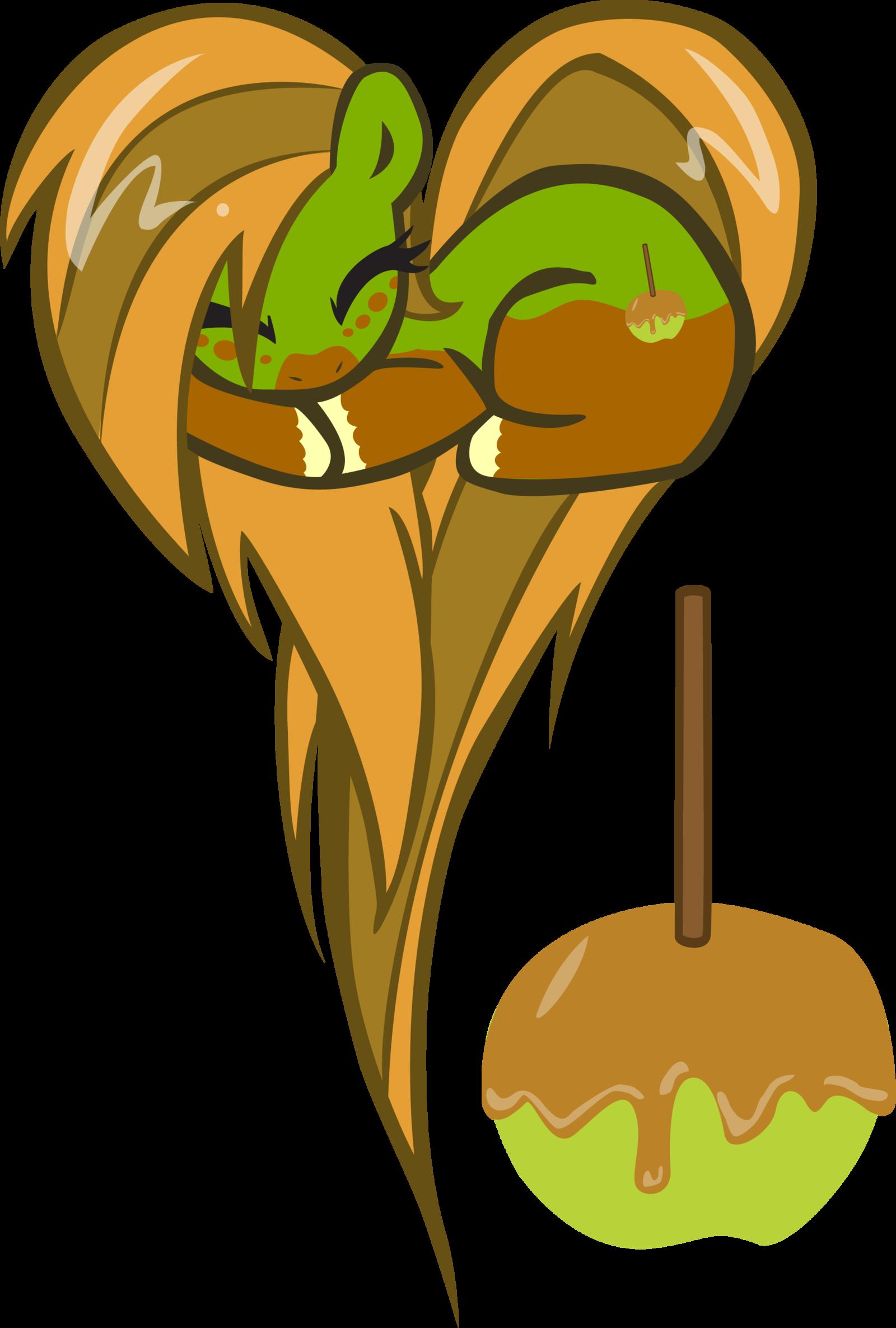 Heart shaped caramel apple clipart png banner royalty free stock mlp apple heart ile ilgili görsel sonucu | My little pony/mlp ... banner royalty free stock