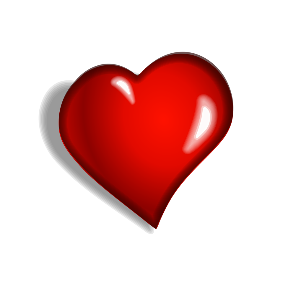 Heart shaped hands clipart image transparent stock Heart | Free Stock Photo | Illustration of a red heart | # 10717 image transparent stock