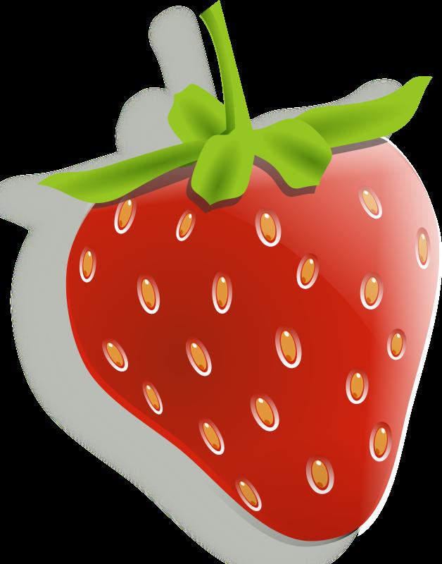 Strawberry flower clipart clip art library download Strawberries, Lemons & Cherries - Fruit Clipart | I want ... clip art library download