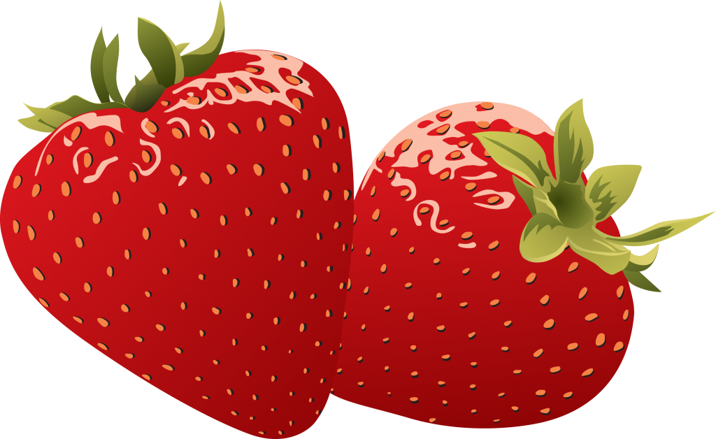 Heart shaped strawberry clipart image library Pin by luke on YCN Quorn: strawberry illustraions research page ... image library