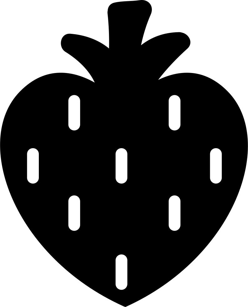 Heart shaped strawberry clipart jpg free download Heart Shaped Strawberry Svg Png Icon Free Download (#34910 ... jpg free download