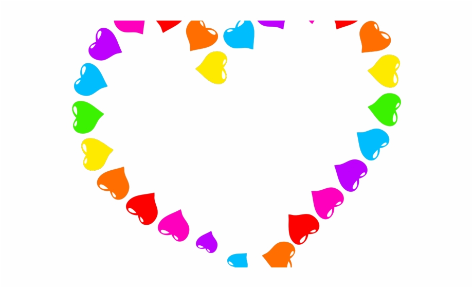 Heart shapes clipart images clip art transparent library Heart Shaped Clipart Big Heart - Colorful Hearts Transparent ... clip art transparent library