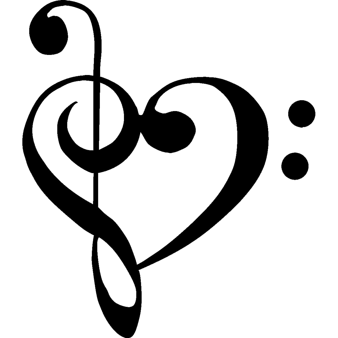 Musical heart clipart image library library tumblr_mk62c2Nkb11s5jjtzo1_1280.png (1181×1181) | Dessins et ... image library library